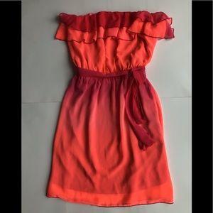 Ombre Sheer Dress